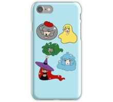 Cute Girl Faces iPhone Case/Skin