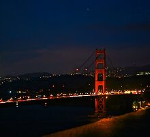 Golden Gate at its Best by LaFramboise