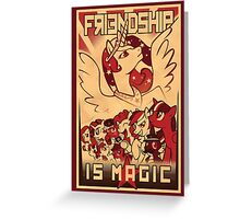 Friendship is Magic Greeting Card