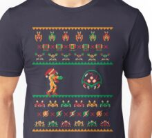 We Wish You A Metroid Christmas - Ugly Sweater T-Shirt Unisex T-Shirt