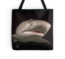 Dark In Here, Innit? (logo tote) Tote Bag