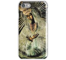 Black Madonna, Our Lady of Grace, Our Lady of Gate of Dawn, Virgin Mary iPhone Case/Skin