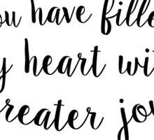 Psalm 4:7 Sticker