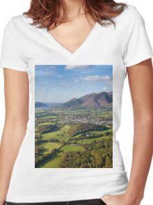 Keswick Women's Fitted V-Neck T-Shirt