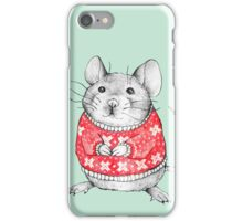 A Festive Mouse iPhone Case/Skin