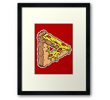 Penrose Pizza - Pepperoni Framed Print
