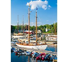 Harbor at Camden, Maine Photographic Print
