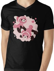 Fluffy Stufful Mens V-Neck T-Shirt