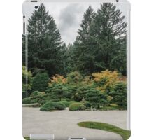 Relax at a Japanese Garden iPad Case/Skin