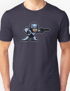 8-Bit Robotic Cop T-Shirt