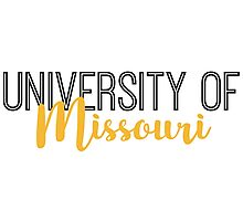 University of Missouri Photographic Print