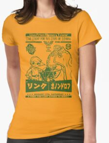 Fight Night from Hyrule Womens Fitted T-Shirt