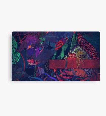 GLASS ANIMALS // BLACK MAMBO Canvas Print