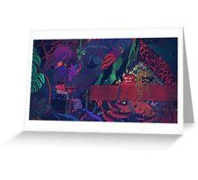 GLASS ANIMALS // BLACK MAMBO Greeting Card
