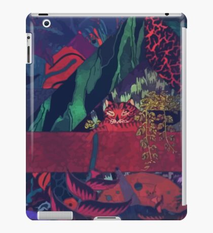 GLASS ANIMALS // BLACK MAMBO iPad Case/Skin