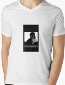 """Are You Lookin At Me""?! Mens V-Neck T-Shirt"