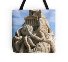 Sand Sculpture ~ a Tribute to Jules Verne Tote Bag