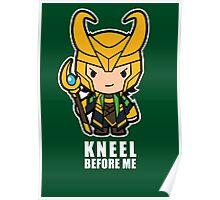 Kneel Before Me Poster