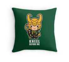 Kneel Before Me Throw Pillow