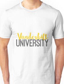 Vanderbilt University Unisex T-Shirt
