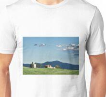 Vitaleta chapel in Val d'Orcia, Tuscany Unisex T-Shirt
