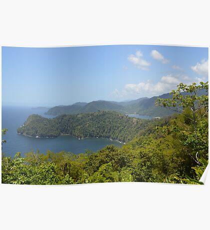 Caribbean Overlook Poster
