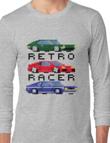 Retro Racer - Sports, Super, and Muscle Long Sleeve T-Shirt