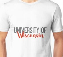 University of Wisconsin Unisex T-Shirt
