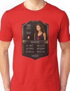 WESTWORLD - TV SHOW - MAEVE STATS - FIFA FUT Unisex T-Shirt