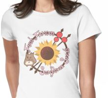 Fuu's Famous Sunflower Seeds Womens Fitted T-Shirt