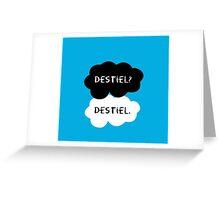 Destiel? Destiel. Greeting Card