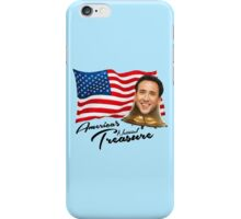 America's National Treasure - Black Text iPhone Case/Skin