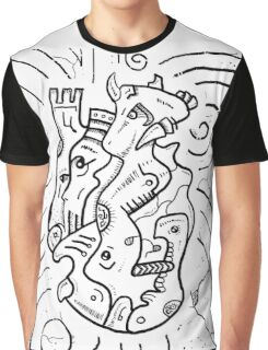 Psychedelic Animals Graphic T-Shirt