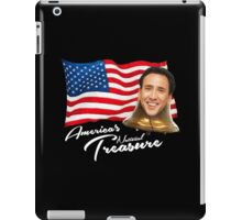 America's National Treasure - White Text iPad Case/Skin