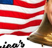 America's National Treasure - Black Text Sticker