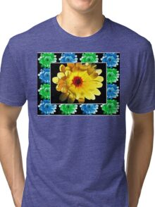 Flower Head's Tri-blend T-Shirt