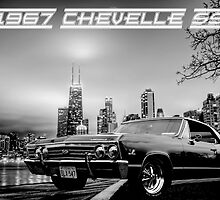 '67 Chevelle SS - City Lights by OntheRox