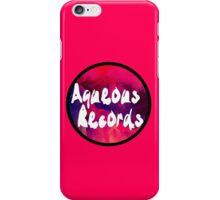 Aqueous Records Logo iPhone Case/Skin