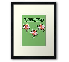 SplashyKarp Framed Print