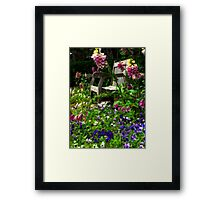 """""""To Everything There is a Season..."""" Framed Print"""