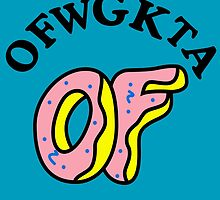 OFWGKTA Doughnut and Words by thebatmanisar