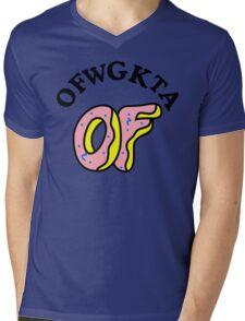 OFWGKTA Doughnut and Words Mens V-Neck T-Shirt