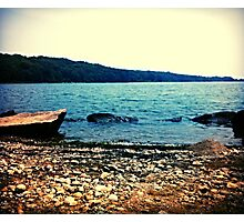 Rocky Lake  Photographic Print