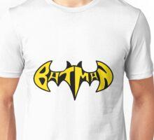 Batman Text  Unisex T-Shirt
