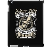 Barber your life iPad Case/Skin