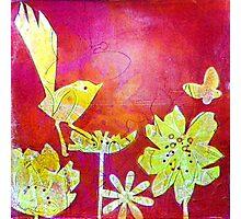 Yellow Bird Photographic Print