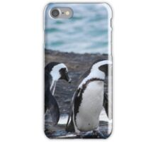 A Trio of Penguins iPhone Case/Skin