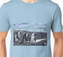 A Trio of Penguins Unisex T-Shirt
