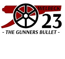 Danny Welbeck Gunners Bullet by RaykwonTheChef