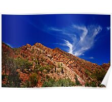 Wilpena Clouds  Poster